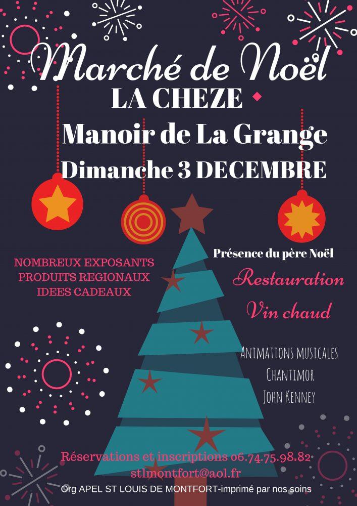 Marché de Noël La Chèze